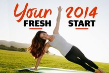 Your 2014 Fresh Start / Get ready to feel—and look—better than you ever imagined possible!  Your complete plan is right here: http://www.redbookmag.com/health-wellness/new-year/ / by REDBOOK Magazine