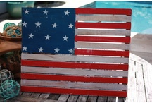 Americana Decor / USA Decor for the home and the patio.