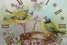 clocks / victorian vintage
