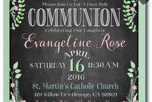 1st Holy Communion!