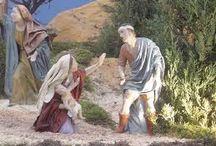 La degollación de los Inocentes / Se piensa que los niños sacrificados cumpliendo el mandato del edicto de Herodes estarían entre los veinticinco y treinta, utilizando como referencia para esta cuantía, la población de la zona en aquella época y, en consecuencia, el número de nacimientos probables.