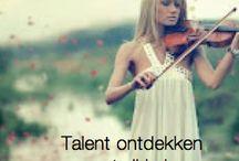 Talent / Je talent ontdekken en ontwikkelen