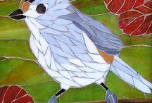 Mosaics - birds