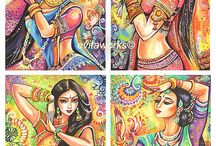 Indian Style Art
