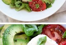 Salads and easy food