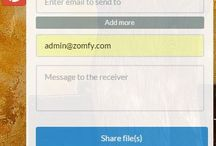 Zomfy.com /  Cool new way to share files! Smart time check of 24 hours & optional password ensures files u send are safe & secure