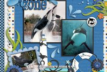 Sea World Scrapbook pages / by Debbie Reeves DeWitt