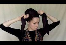 turbantes e lenços