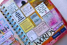 Artjournaling - dagboek