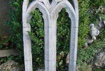 Historische Bauelemente für den Garten