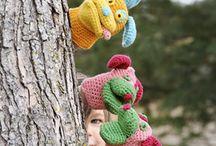 crochet hand puppets
