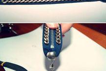 Zipzárból ékszerek