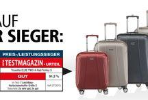 Koffer-Testsieger / Koffer & Reisegepäck die bei Koffer-Tests von verschiedenen Magazinen als Testsieger hervorgegangen sind.