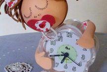 Fofuchas relojes