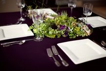 Tablescapes and Place Settings