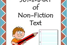 Writing a Summary for Non-Fiction Texts / Writing a Summary for Non-Fiction Texts. Nonfiction texts fill our lives. Summarizing non-fiction text needs to be taught explicitly, and students should be able to clearly describe how to create a summary, and what a good summary is.