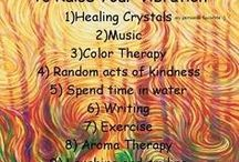 Raising spiritual vibration