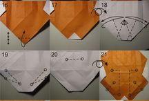 Origami raposa