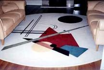Art Inspired Rugs / Custom Art-Inspired Modern Area Rugs - It's Rug Art!                        Simply Art for the floor!