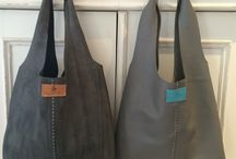 Leather hand made Hobo Bags / Hand Made Leather Slouch Bags, Oh my word these are so gorgeous.
