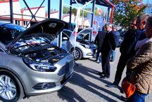 Wystawa z okazji 50-lecia ZS 2 we Wrocławiu / Nowy Ford S- Max  Hyundai i20 Suzuki S-Cross