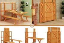 Folding-expanding-sliding... Indoor and Outdoor Furniture and others...