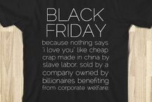 "Anti ""Black Friday"" movement"