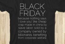 "Anti ""Black Friday"" movement"