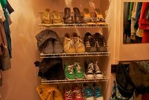 Shoe Racks / by Jaymey Sweeney