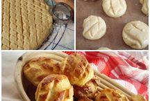 Sós sütemények, kenyerek