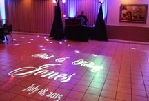 Put your name in lights! / Wedding lighting ideas