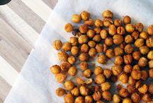 Gezonde snacks / Geroosterde kikkererwten