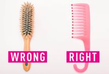 HAIR HACKS / Easier ways to handle your hair.