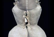 1700 - 1709 / kleding voor dames en heren van de jaren 1700 - 1709