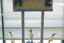 Name Centerpieces / Name centerpieces to use at your place card table and/or at your sweet table.