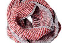 Knitting cowls - Tricot cols