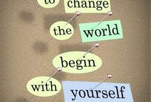 The only person you can change is yourself - 55