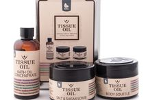 Tissue Oil Products / We've packed the goodness of Tissue Oil into an innovative range of indulgent and effective products. This range will repair and protect your skin with the nourishing properties of Vitamin E-rich tissue oil. Beauty Factory now available online at GoodiesHub.com