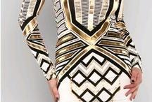 Dresses metallic