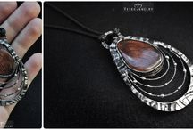 Vitek Jewelry Creations / Original handmade jewelry inspired by beauty of nature, endless human fantasy and love. // Like us on facebook :) https://www.facebook.com/pages/Vitek-Jewelry/159920687542751?fref=ts