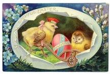 Vintage Easter / by handpaintedfurniture