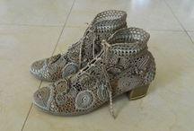 buty szydełkowe