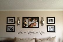 Wall Decor Ideas / by Tiffany Noecker