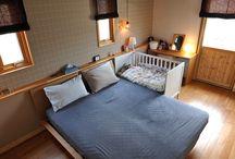 赤ちゃんとの寝室