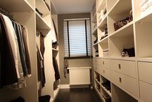Walk in closet / kleedkamer
