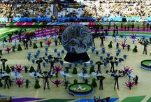 Opening ceremony & world cup Brazil 2014
