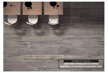 Large Format Wood Effect Porcelain Tiles / Large Format Italian Wood Effect Porcelain Tiles