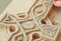 Drewno / Woodcarving, woodburning