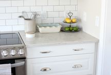 Ikea white kitchen cabinets