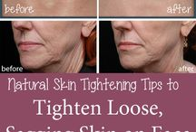 Tighten loose sagging skin on neck and face